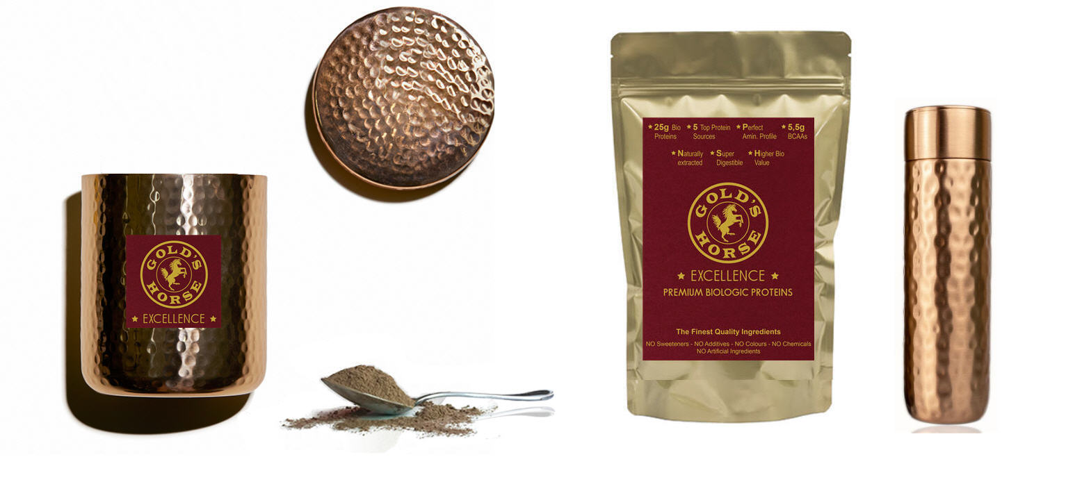 Gold's Horse Excellence - Premium Bio Organic Proteins - Golds Horse Excellence - - Luxury plant based protein powder - Luxury vegan protein powder - Premium plant based protein powder - High quality plant based protein powder - Top quality plant based protein powder